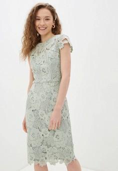 Платье, Chi Chi London, цвет: зеленый. Артикул: CH041EWJFZG4. Одежда / Платья и сарафаны / Вечерние платья
