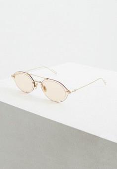 Очки солнцезащитные, Christian Dior, цвет: золотой. Артикул: CH587DUEYDP0. Аксессуары