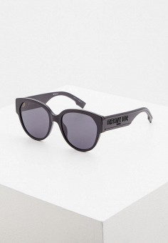 Очки солнцезащитные, Christian Dior, цвет: черный. Артикул: CH587DWIUGZ0. Аксессуары