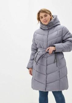 Куртка утепленная, Clasna, цвет: серый. Артикул: CL016EWGTBY4.