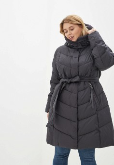 Куртка утепленная, Clasna, цвет: серый. Артикул: CL016EWGTBY5.