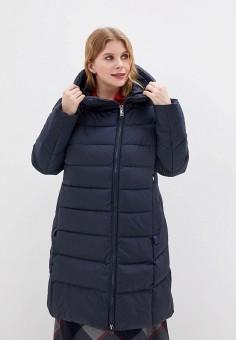 Куртка утепленная, Clasna, цвет: синий. Артикул: CL016EWGTBY7. Одежда / Верхняя одежда / Демисезонные куртки