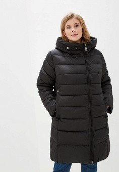 Куртка утепленная, Clasna, цвет: черный. Артикул: CL016EWGTBY8.