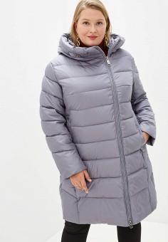 Куртка утепленная, Clasna, цвет: серый. Артикул: CL016EWGTBY9.