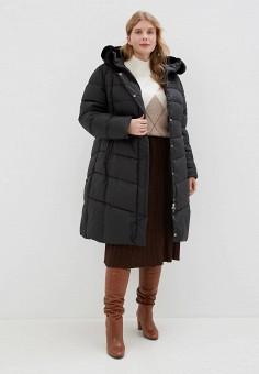 Куртка утепленная, Clasna, цвет: черный. Артикул: CL016EWGTBZ5.