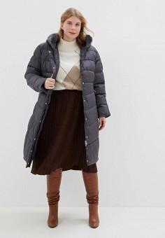 Куртка утепленная, Clasna, цвет: серый. Артикул: CL016EWGTBZ6.