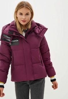 Куртка утепленная, Clasna, цвет: фиолетовый. Артикул: CL016EWGTCA2.