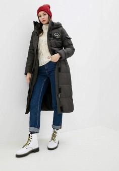 Куртка утепленная, Clasna, цвет: черный. Артикул: CL016EWGTCA8.