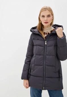 Куртка утепленная, Clasna, цвет: серый. Артикул: CL016EWGTCD0.