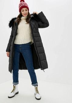 Куртка утепленная, Clasna, цвет: черный. Артикул: CL016EWGTCD9.