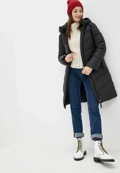Куртка утепленная, Clasna, цвет: черный. Артикул: CL016EWGTCE3.