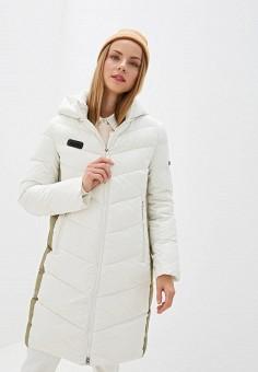Куртка утепленная, Clasna, цвет: бежевый. Артикул: CL016EWGTCE5.