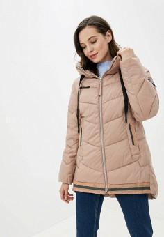 Куртка утепленная, Clasna, цвет: бежевый. Артикул: CL016EWGTCF0.