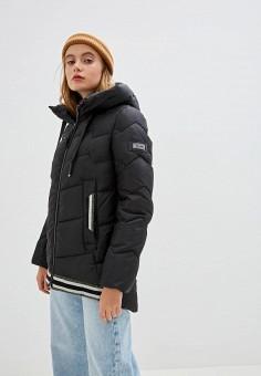 Куртка утепленная, Clasna, цвет: черный. Артикул: CL016EWGTCF1.