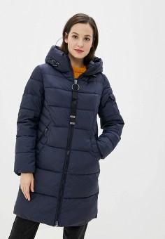 Куртка утепленная, Clasna, цвет: синий. Артикул: CL016EWGTCH3.