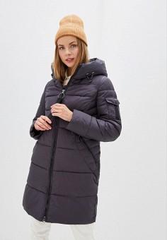 Куртка утепленная, Clasna, цвет: серый. Артикул: CL016EWGTCH5.