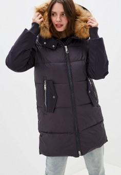 Куртка утепленная, Clasna, цвет: серый. Артикул: CL016EWGTCJ0.