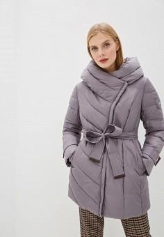 Куртка утепленная, Clasna, цвет: фиолетовый. Артикул: CL016EWGTCJ3.