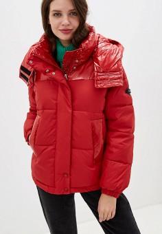 Куртка утепленная, Clasna, цвет: красный. Артикул: CL016EWGTCK1.