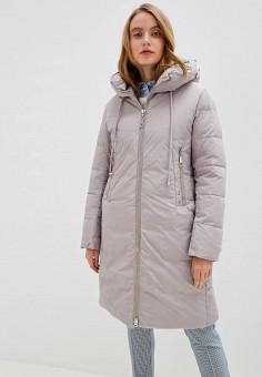 Куртка утепленная, Clasna, цвет: серый. Артикул: CL016EWGTCL5.