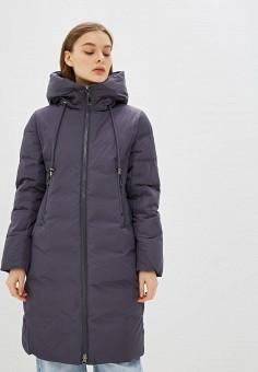 Куртка утепленная, Clasna, цвет: серый. Артикул: CL016EWGTCL7. Одежда / Верхняя одежда / Демисезонные куртки