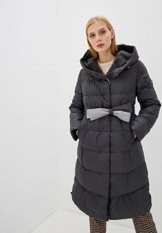 Куртка утепленная, Clasna, цвет: серый. Артикул: CL016EWGTCM1.