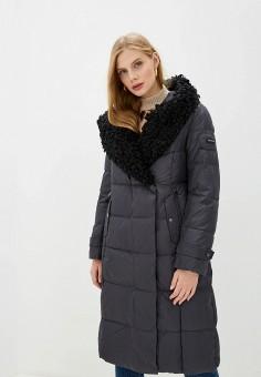 Пальто, Clasna, цвет: серый. Артикул: CL016EWGTCM6.