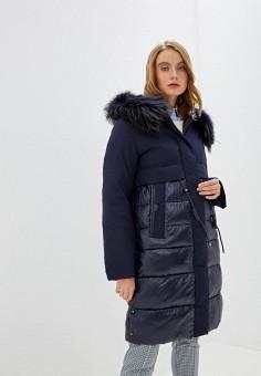 Куртка утепленная, Clasna, цвет: синий. Артикул: CL016EWGTCM7.