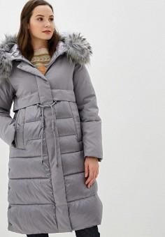 Куртка утепленная, Clasna, цвет: серый. Артикул: CL016EWGTCM9.