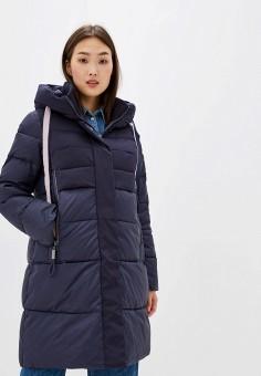 Куртка утепленная, Clasna, цвет: синий. Артикул: CL016EWGTCN2.