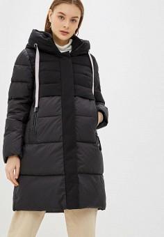 Куртка утепленная, Clasna, цвет: черный. Артикул: CL016EWGTCN3.
