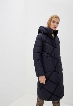 Куртка утепленная, Clasna, цвет: синий. Артикул: CL016EWGTCN6.
