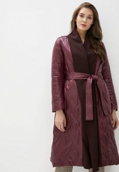 Куртка утепленная, Clasna, цвет: бордовый. Артикул: CL016EWIQOD8.