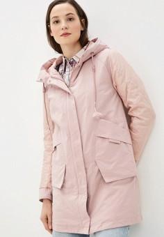 Куртка утепленная, Clasna, цвет: розовый. Артикул: CL016EWIQOE4.