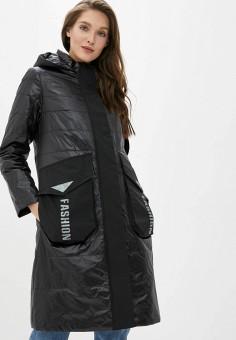Куртка утепленная, Clasna, цвет: черный. Артикул: CL016EWIQOF0.
