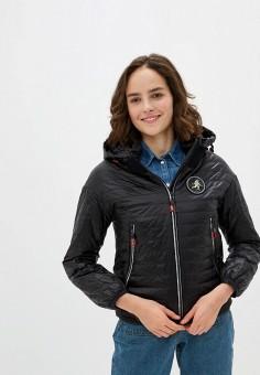 Куртка утепленная, Clasna, цвет: черный. Артикул: CL016EWIQOF3.