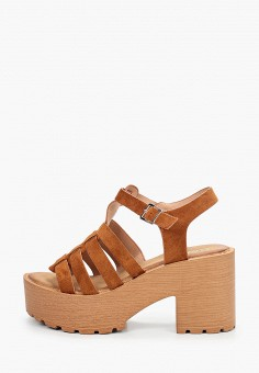 Босоножки, Clowse, цвет: коричневый. Артикул: CL020AWJHRX3. Обувь / Босоножки