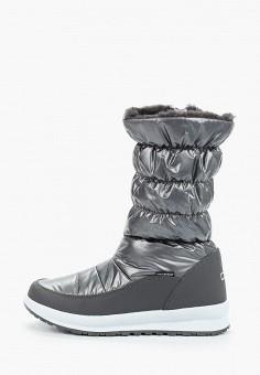 Дутики, CMP, цвет: серый. Артикул: CM001AWGSEZ2. Обувь / Сапоги / Дутики