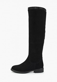 Сапоги, Covani, цвет: черный. Артикул: CO012AWGBJA1. Обувь / Сапоги