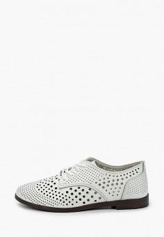 Ботинки, Covani, цвет: белый. Артикул: CO012AWIVPS5. Обувь / Ботинки / Низкие ботинки
