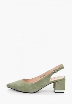 Туфли, Covani, цвет: зеленый. Артикул: CO012AWIVPW5. Обувь / Туфли
