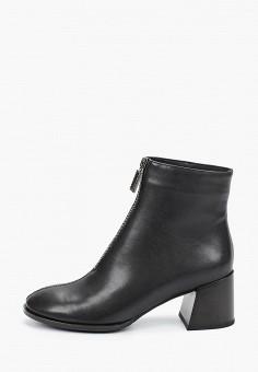 Ботильоны, Covani, цвет: черный. Артикул: CO012AWKETC6. Обувь / Ботильоны