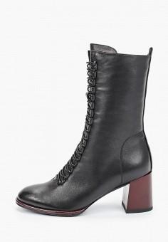 Полусапоги, Covani, цвет: черный. Артикул: CO012AWKETE5. Обувь / Сапоги