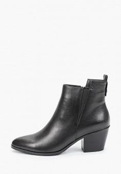 Ботильоны, Covani, цвет: черный. Артикул: CO012AWKETE8. Обувь / Ботильоны