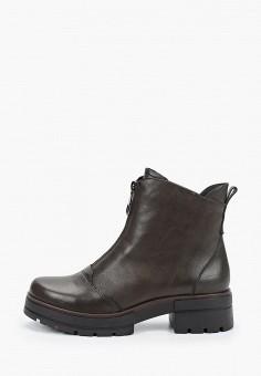 Ботинки, Covani, цвет: хаки. Артикул: CO012AWKETG2. Обувь / Ботинки / Высокие ботинки