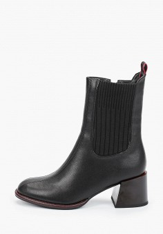 Ботильоны, Covani, цвет: черный. Артикул: CO012AWKETG8. Обувь / Ботильоны