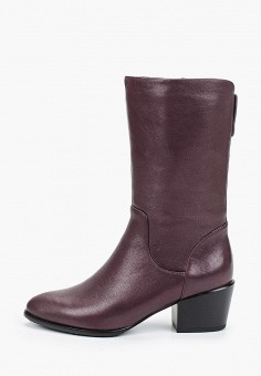 Полусапоги, Covani, цвет: бордовый. Артикул: CO012AWKETJ5. Обувь / Сапоги / Полусапоги