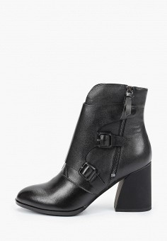 Ботильоны, Covani, цвет: черный. Артикул: CO012AWKETJ7. Обувь / Ботильоны
