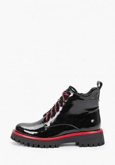 Ботинки, Covani, цвет: черный. Артикул: CO012AWKETK9. Обувь / Ботинки / Высокие ботинки