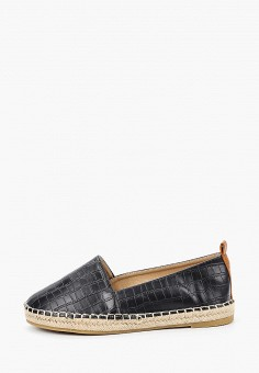 Эспадрильи, Coura, цвет: черный. Артикул: CO048AWIZAY9. Обувь / Эспадрильи